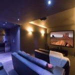 home theatre room investment property