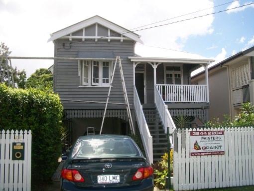 house paint gold coast after shot